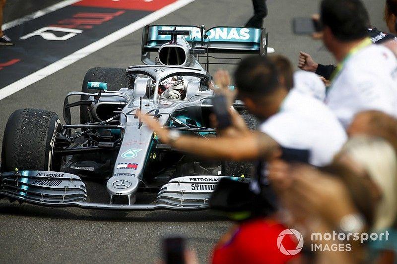 """F1フランスGP決勝:ハミルトン、""""貫禄""""4連勝。ガスリー、繰り上がりで10位"""