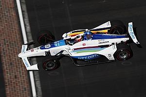 Rosenqvist recobró la confianza de cara a Indy 500