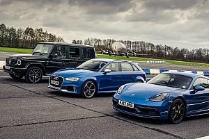 Gyorsulási verseny: AMG G 63 vs. Cayman GTS vs. Audi RS3