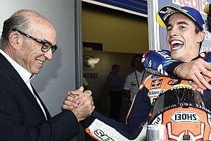 Márquez y Dovizioso dan la bienvenida a Rins a la lucha por el título