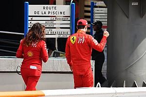 Leclerc cuestionó la estrategia de Ferrari en la Q1