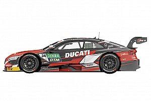 C'è Ducati nella livrea dell'Audi RS 5 DTM di Dovizioso per Misano