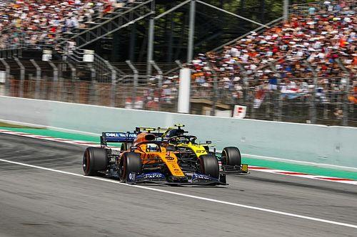 GP d'Espagne - Les vitesses de pointe