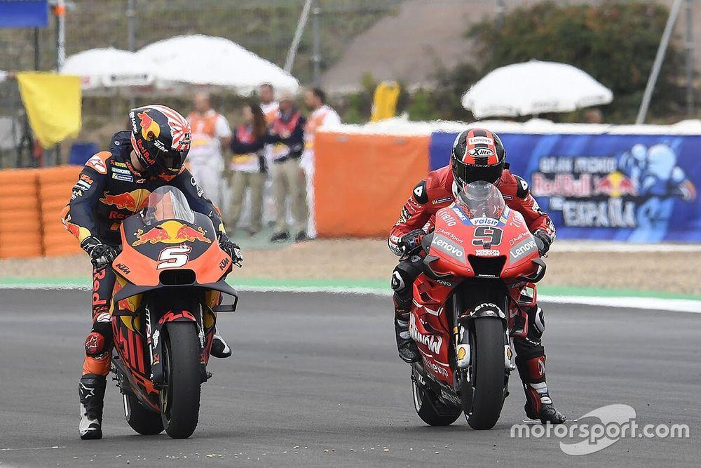 Petrucci admite que gostaria de correr na KTM após perder lugar na Ducati