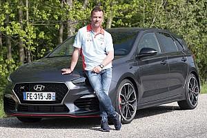Sébastien Loeb prend les clés de sa Hyundai i30 N