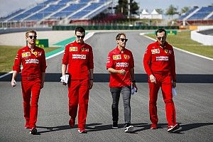Vettel és a csütörtöki nap képekben Barcelonából