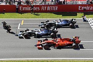Гран При Испании: стартовая решетка в картинках