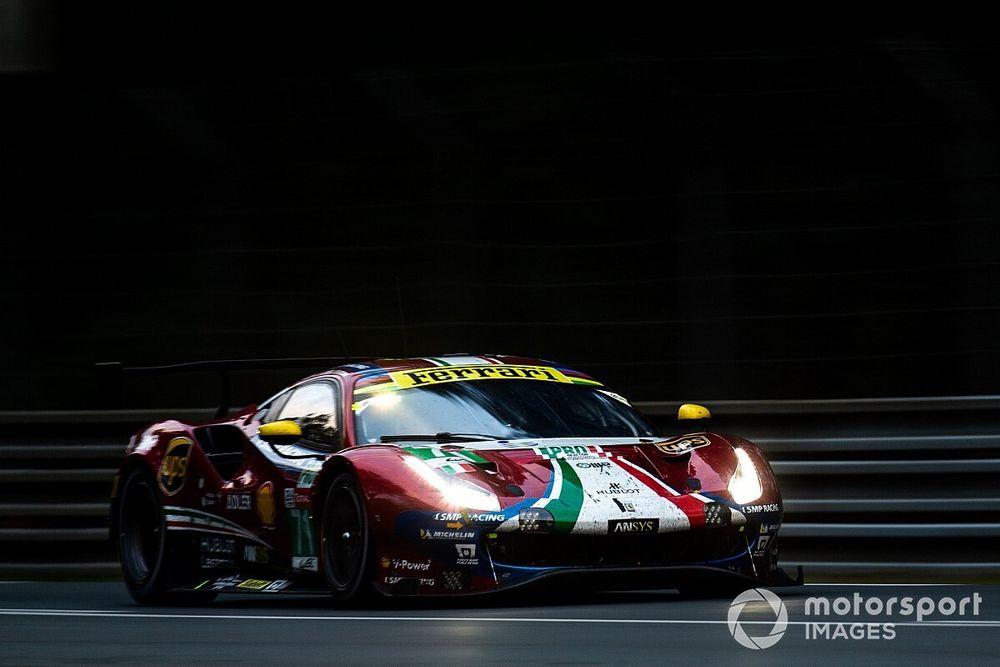Leclerc y Molina, con Ferrari en las 24 horas de Le Mans virtuales