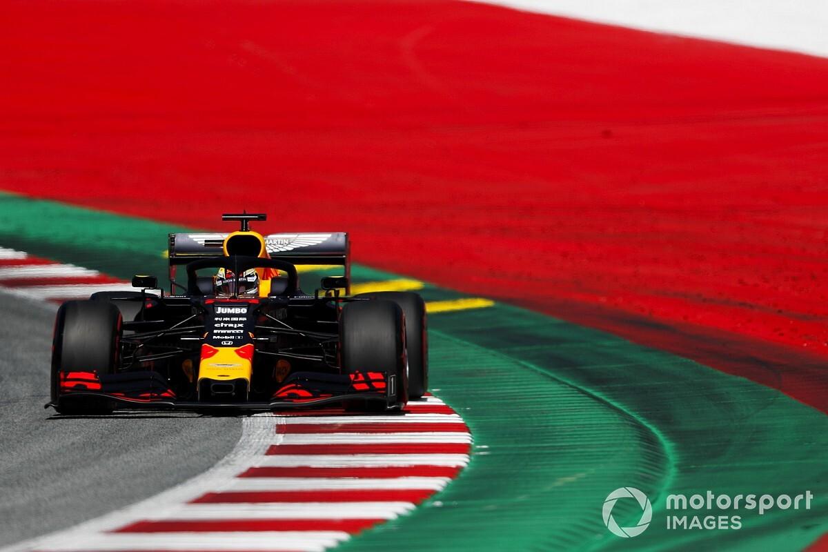 F1オーストリアGP決勝速報:レッドブル・ホンダがトップチェッカー。フェルスタッペン激走