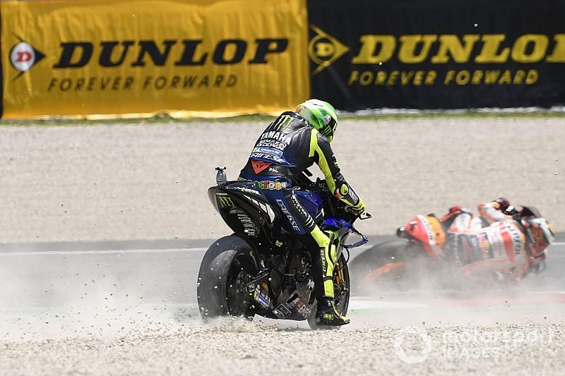 """Rossi: GP da Itália foi """"um dos meus piores em muito tempo"""" na MotoGP"""
