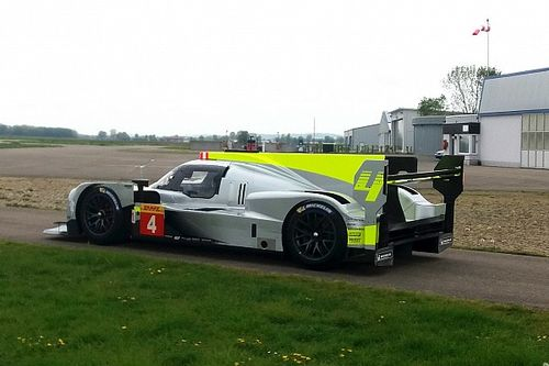 ByKolles shakes down LMP1 car with Gibson engine