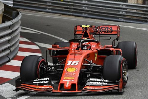 Monaco GP: Leclerc tops FP3 as Vettel crashes