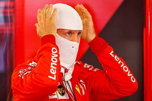 """Vettel na P4 in kwalificatie: """"Het was een zware en rare dag"""""""