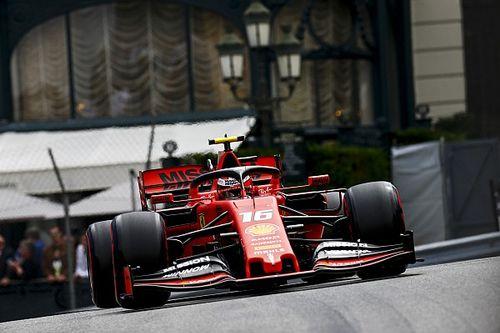 Леклер стал лучшим в субботней тренировке в Монако, Феттель разбил машину