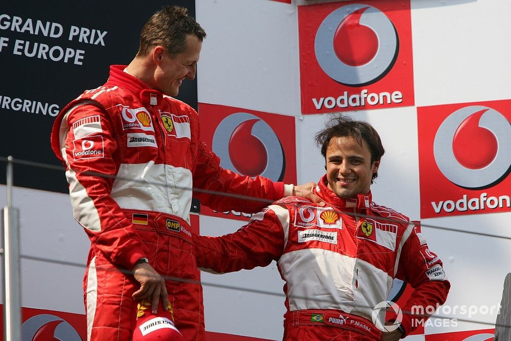 Massa: Conozco del estado de salud de Schumacher y rezo por él