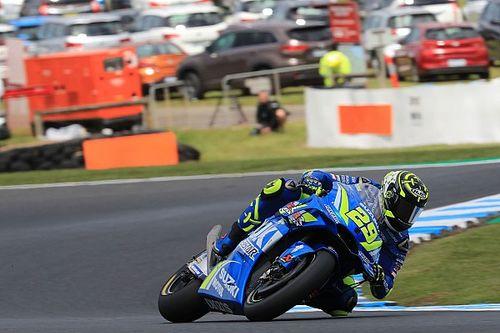 MotoGP Australia: Iannone kuasai warm-up, Rossi ke-17