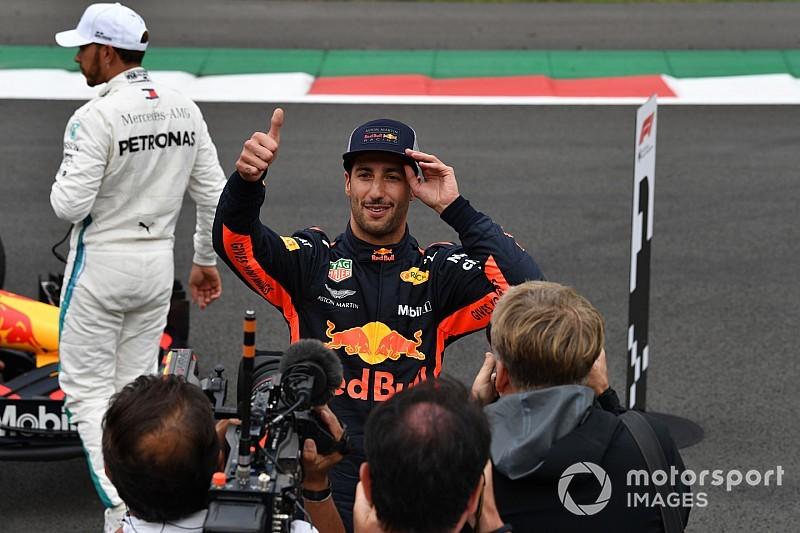 """Horner: La pole de Ricciardo """"salió de la nada"""""""