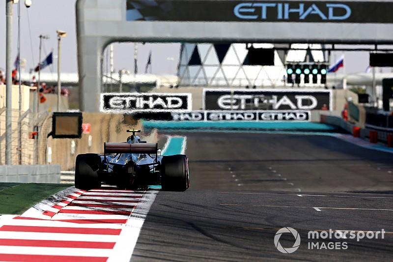Az évadzáró F1-es Abu Dhabi Nagydíj hivatalos rajtrácsa