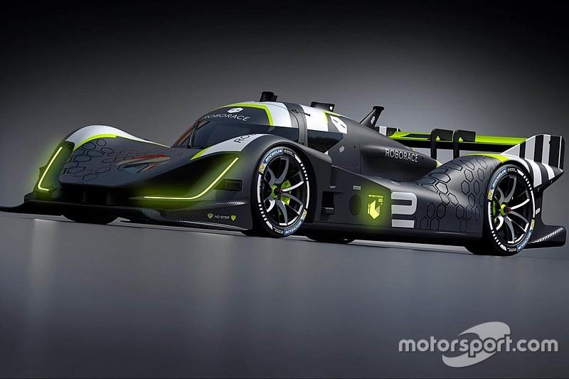 Roborace показала машину, которой будет управлять гонщик и искусственный интеллект