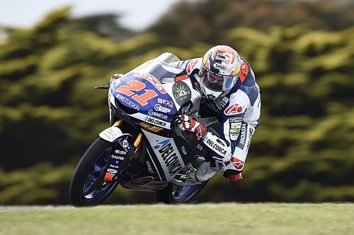"""Il podio di """"Diggia"""" regala al team Gresini il titolo mondiale Team di Moto3 2018!"""