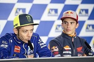 Rossi: Marquez tak perlu pindah pabrikan