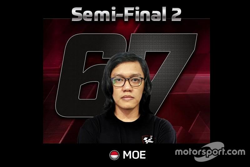 Putut Maulana, wakil Indonesia di MotoGP eSport