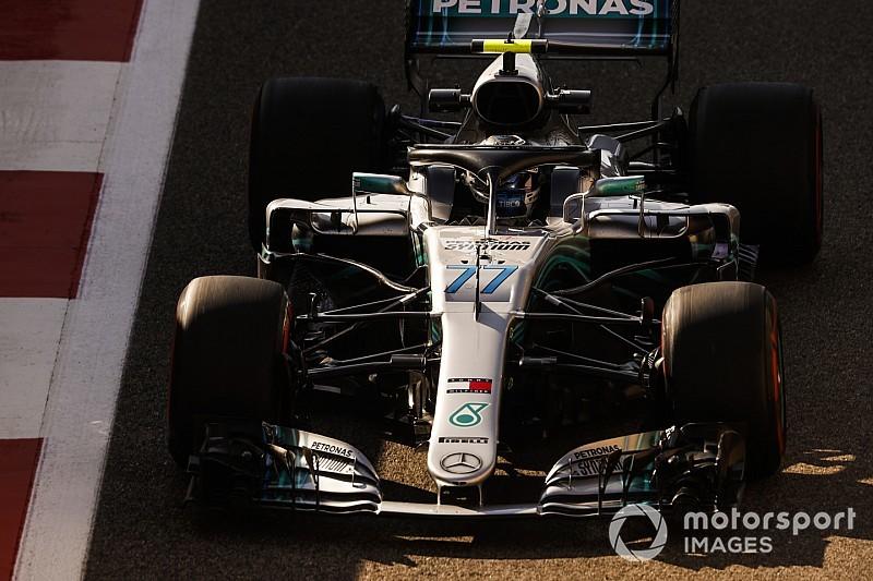 Bottas bate Verstappen e fecha sexta na frente em Abu Dhabi