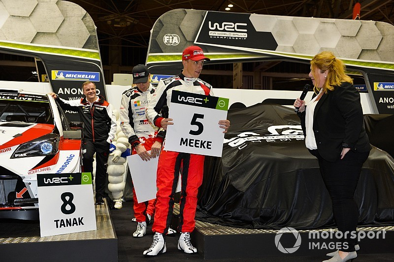 WRC-Piloten wählen erstmals feste Startnummern