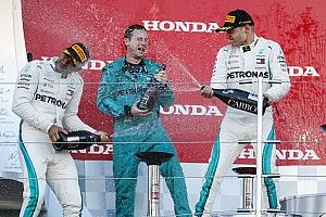 """Bottas: """"Leek spannender met Verstappen dan dat het was"""""""