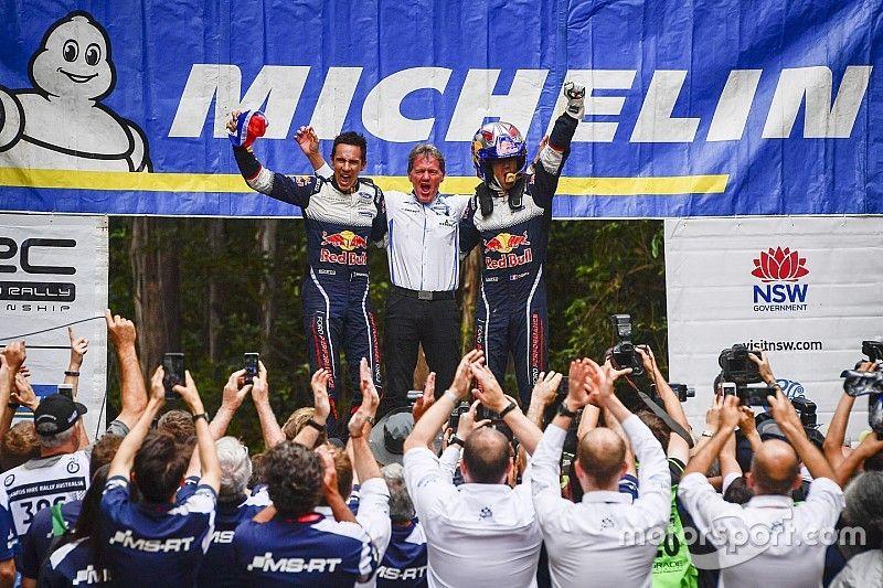Sexto título de Ogier y victoria para Latvala en Australia