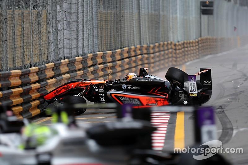 El jefe de equipo de Floersch exculpa al circuito de Macao del accidente