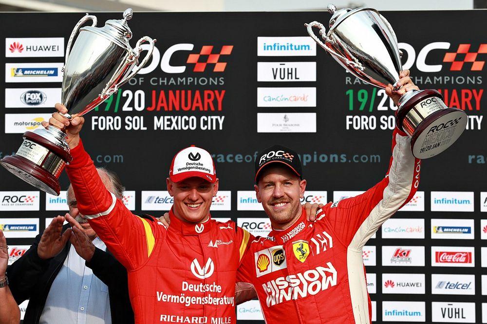 Vettel: Michael estaría orgulloso de su hijo