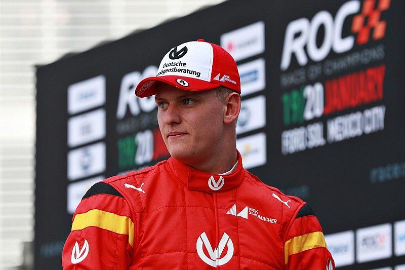 Mick Schumacher no siente presión en su debut en Race of Champions