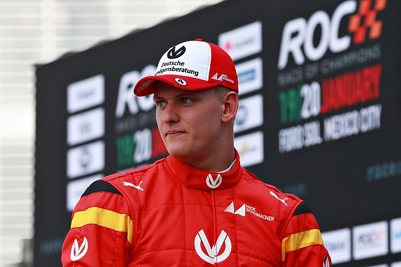 Mick Schumacher no siente presión en su debut en Race of Champions