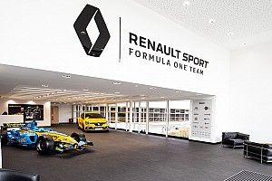 GALERÍA: la fábrica del equipo Renault F1