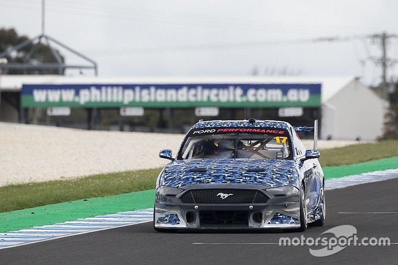 First Supercars Mustang video emerges