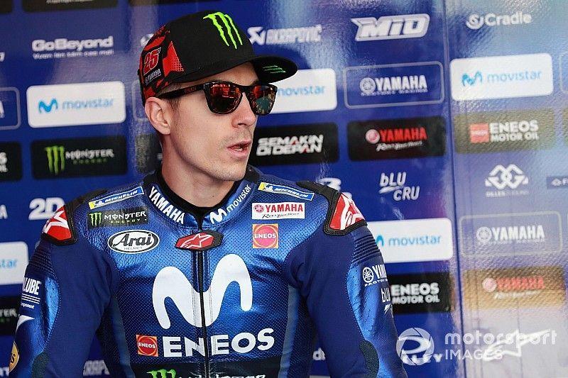 Australian MotoGP: Vinales fastest in FP1, Marquez crashes