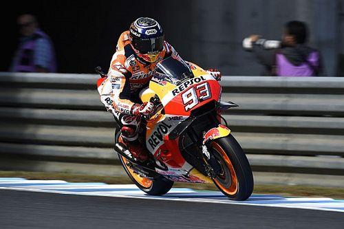 Marquez kecewa Dovizioso tersungkur saat balapan