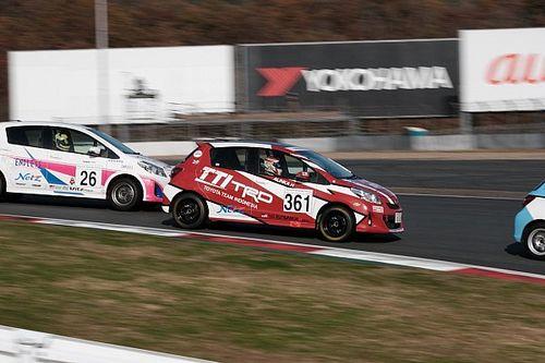 Alinka tuntaskan Netz Cup Vitz Race di Jepang