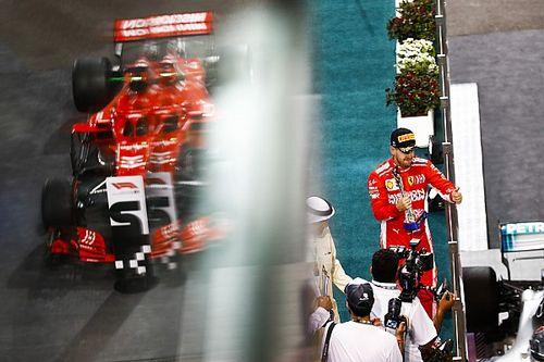 Ecclestone: Vettel é uma vítima da Ferrari, não culpado