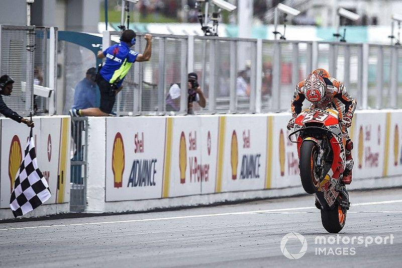 Triunfo de Márquez, batacazo de Rossi