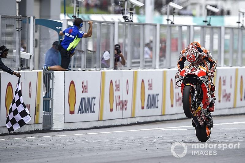 Fotogallery MotoGP: Marc Marquez vince in rimonta il GP della Malesia