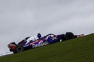 F1アメリカFP2速報:ウエット路面でガスリーが2番手! ハミルトン最速