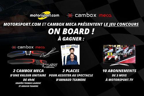 Jeu concours : Gagnez une caméra Cambox Meca et le spectacle d'Arnaud Tsamere