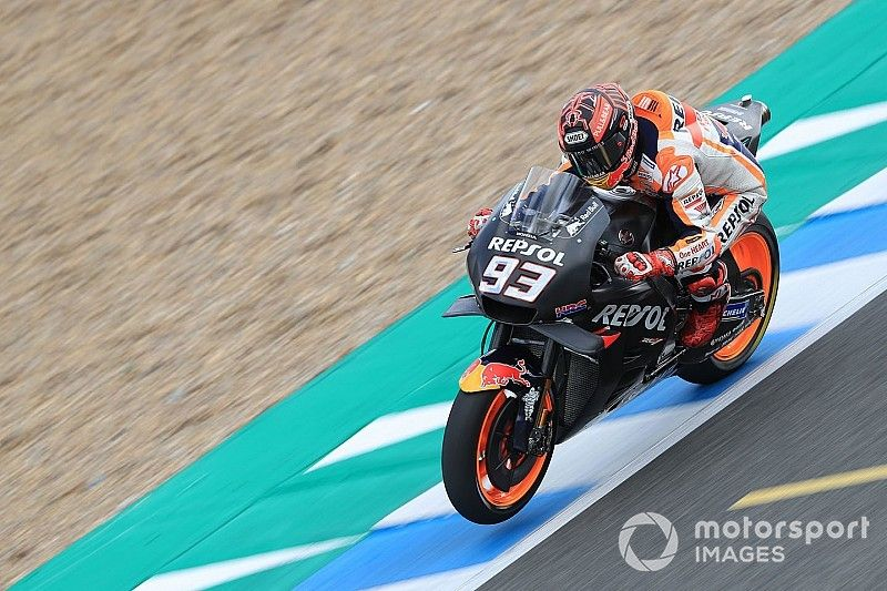 """Marquez: Honda """"in a good place"""" after Jerez test"""
