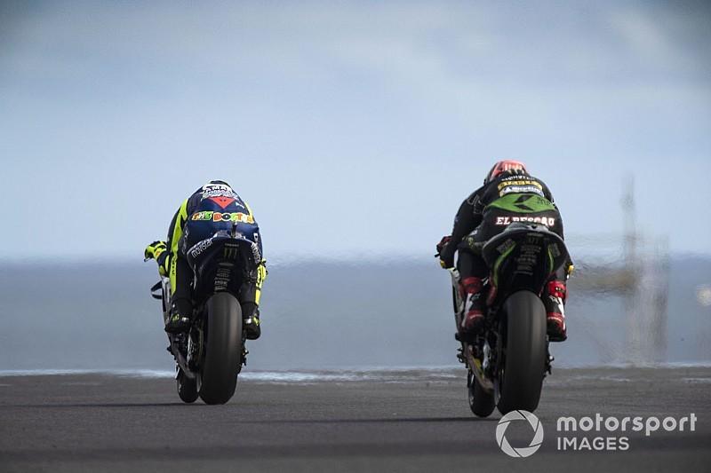 Условия на трассе в финале квалификации напугали гонщиков MotoGP
