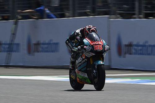 Moto2, Buriram, Libere 3: Quartararo riporta davanti la Speed Up