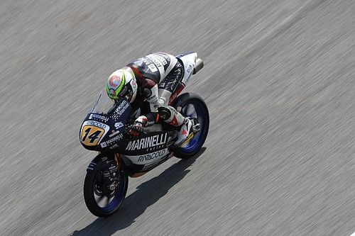 FP2 Moto3 Malaysia: Arbolino tercepat, Atiratphuvapat -Norrodin tercecer