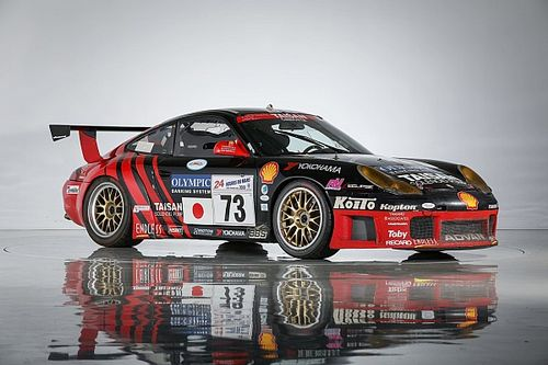 Le Mans-winning Porsche leads Team Taisan Japanese auction