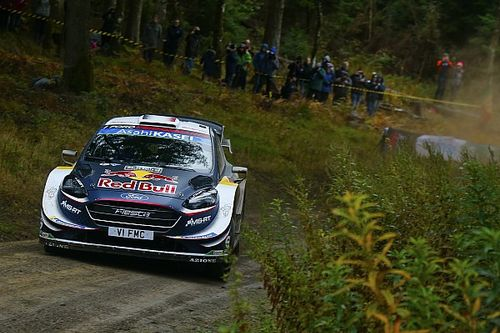 Wales WRC: Tanak pulls away, Ogier charges to second